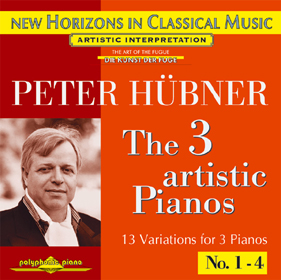 Peter Hübner, The 3 Artistic Pianos No. 19 - 3