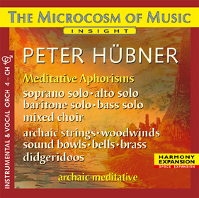 Peter Hübner, Meditative Aphorisms Choir – Orchestra 4