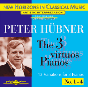 Peter Hübner, The 3 Virtuos Pianos No. 1 - 3