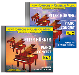 Peter Hübner - Pianoconcert No. 1